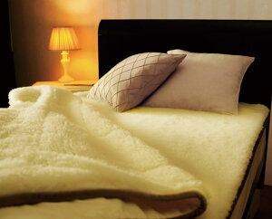 ThePREMIUMsofwool(ザ・プレミアムソフゥール)あったか敷き毛布シングルサイズ(約100×205cm)【送料無料】