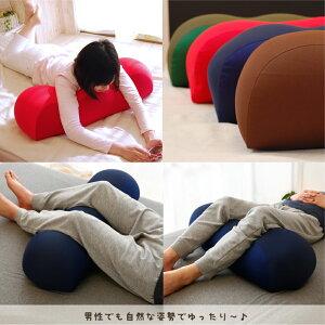 王様の膝下枕標準サイズ(超極小ビーズ素材使用)【ひざ下枕/膝下枕/膝裏/ウェーブ形】【RCP】