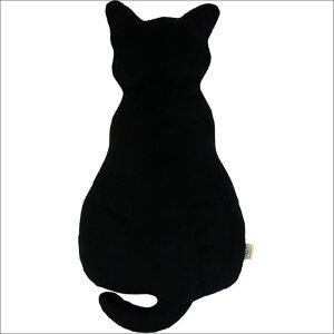 思わず抱きしめたくなる、かわいい猫のシルエットのクッションです。Alice(アリス) ネコ型シ...