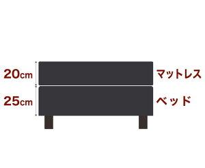 セレクトベッドダブルクッションベッド(ベッド+マットレス)ボンネルコイルスプリング(線の直径2.5mm)脚:ダークブラウン色(12cm)キングサイズ(180×195cm)ブラック