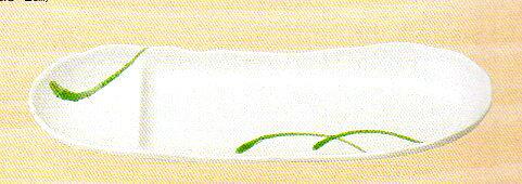 【美濃焼】白織部一珍舟 仕切 さんま皿 さんま/サンマ/秋刀魚/秋/七輪/大根おろし/大根/ダイコン/かぼす/カボス/明石家さんま/祭り/秋祭り/モミジ/紅葉/もみじ/紅葉/炭/魚/月見/収穫祭/新米/米/ハロウィン/十五夜/寿司/刺身/焼き魚/わさび/ススキ/萩/団子/釧路/