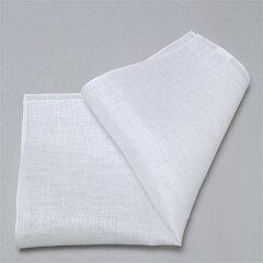 ポケットチーフ 麻100% 無地 日本製 紳士 新郎 結婚式 フォーマル ホワイト 白 リネン…
