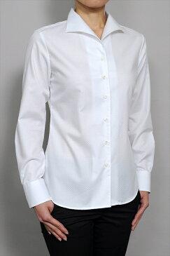 レディースシャツ レディース ワイシャツ|シャツ 長袖 日本製 ブラウス オフィス イタリアンカラーシャツ 白 クレリック yシャツ 白ワイシャツ 白シャツ イタリアンカラー おしゃれ ドレスシャツ クレリックシャツ ビジネス ビジネスワイシャツ 綿100% カッターシャツ