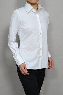 ビズポロ ニット レディース 長袖ワイシャツ|ワイシャツ シャツ ドレスシャツ 高級 yシャツ ビジネス 日本製 ポロシャツ おしゃれ ニットシャツ ビジネスシャツ カッターシャツ ブラウス 大きいサイズ オフィス ワイドカラー 白シャツ 長袖シャツ スーツ 女性用 白ブラウス