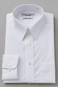 ホワイト レギュラー ワイシャツ プレミアム コットン カッターシャツ ビジネス おしゃれ ブロード オフィス