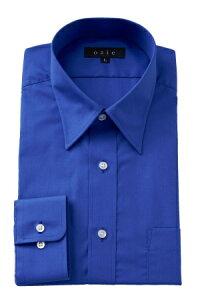 形態安定シャツ 形状記憶 ドレスシャツ 長袖ワイシャツ ブルー 青シャツ 青Yシャツ 日本製 国産 ビジネスシャツ カッターシャツ ノーアイロン メンズ 男性用 おしゃれ オシャレ ギフト ブロード | ワイシャツ 青 長袖 yシャツ 紳士 ビジネスワイシャツ 形態安定 制服 高級