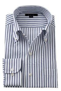 イタリアンカラーシャツ メンズ ドレスシャツ 長袖 ワイシャツ タイトフィット ネイビー 紺 ボタンダウンシャツ ビジネスシャツ カッターシャツ おしゃれ Yシャツ 高級   イタリアンカラー シャツ トールサイズ スリム ボタンダウン ビジネス メンズドレスシャツ クールビズ