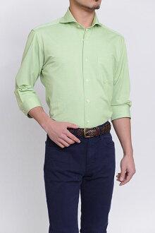 Biz 馬球針織襯衫 7 長袖襯衫 polo 衫面料 7 袖緊身苗條的 CoolMax 提供臥式混色商務襯衫綠色綠色襯衫 7 套專業店辦公室 Y 襯衫 coolmax 商務 polo 衫 OZIE