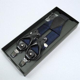日本製造的真絲吊帶吊帶 2 方式 100 %y-35 毫米寬 3.5 釐米海軍藍色固體正式休閒禮儀場合吊裝帶黃銅褲牛皮皮革用吊帶 OZIE