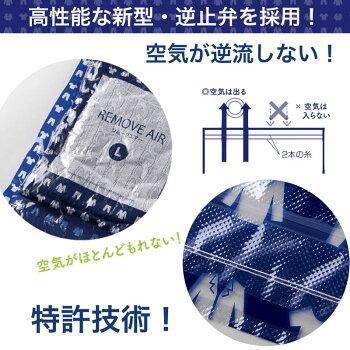 衣類圧縮袋リムーブエアー衣類圧縮パック