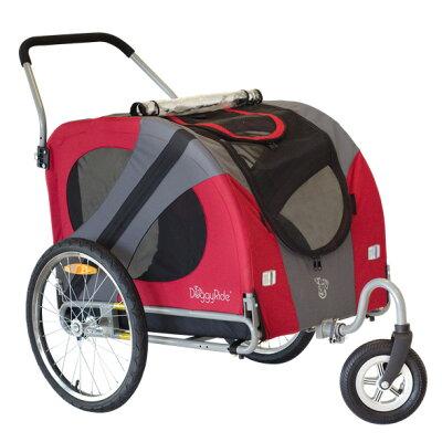 ドギーライドBIG(大型犬ビッグサイズのペットバギー)( バギーカート ペットカート大型 )ドギ...