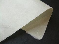 検: 和紙 生成 ベージュ  表装 表具 ◆小川 細川紙 並口(厚口)