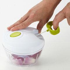 みじん切りチョッパー離乳食作りにも最適!フードプロセッサースライサー離乳食時短調理手動スライサー