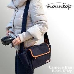 カメラバッグショルダーバッグmountopVer.2ショルダー帆布一眼レフミラーレスおしゃれカメラ女子