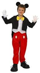 Child Mickey-M(チャイルド・ミッキー:子供用M)  [ハロウィン衣装、ハロウィーン、コスチューム、仮装、ディズニー、子供、男の子]【028484】