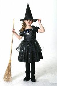ハロウィーン、ハロウィン衣装、コスチューム、仮装、子供、女の子♪♪__メルヘンウィッチ(黒...