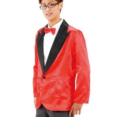 c1fb85f687655 NEWパーティータキシード(赤)  コスプレ衣装・コスチューム・仮装グッズ・イベント・宴会  A-0097 014449