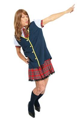 アイドル制服ユニットAMen's【キーワード:AKB48・AKIBA・アキバ・女子高生コスチューム・コスプレ・仮装グッズ・衣装】【837688】