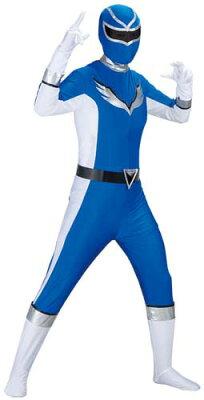 【ウイング】爆笑戦隊パーティーレンジャーウイング(ブルー)【戦隊コスチューム】【013015】