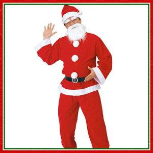 【即納】メンズサンタクロース  【サンタ衣装、クリスマス衣装、サンタコスプレ、サンタク...