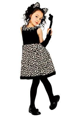 レオニーワンピース(子供用:140cm)[ハロウィン衣装、ハロウィーン、コスチューム、仮装、子供、女の子]【434818】【P25Apr15】