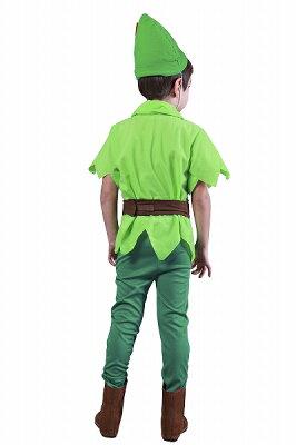 ファンタジーボーイ(子供用:120cm)【(男の子用)ピーターパン衣装】[ハロウィン衣装、ハロウィーン、コスチューム、仮装、子供、男の子]【826439】