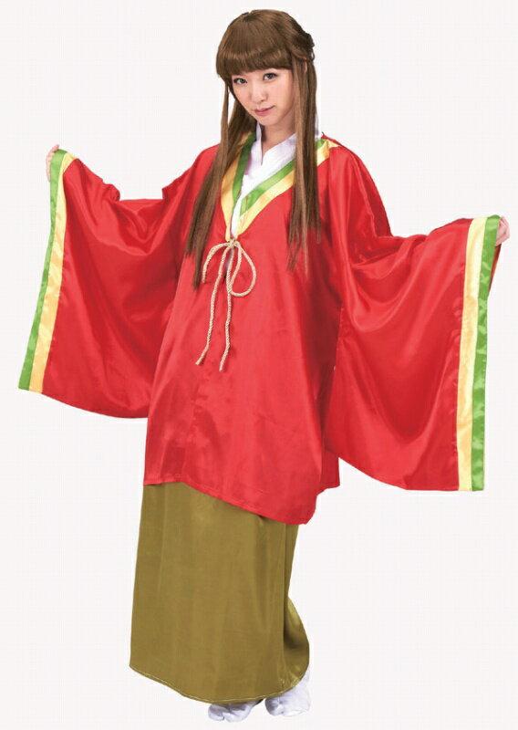 かぐや姫[かぐちゃんau昔話大人用コスプレ衣装三太郎コスチュームハロウィンイベント]【A-1611_016337】