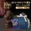 【10個セット ガトーショコラ1個入りギフト】送料無料 手土産 お礼 ご挨拶ギフ