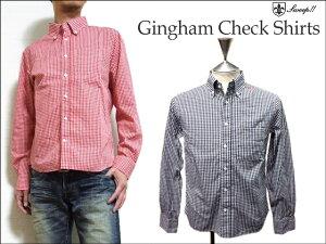 Sweep(スウィープ) ギンガムチェック柄ボタンダウンシャツ Gingham Check S…