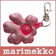 【 メール便 可 】 marimekko ( マリメッコ ) UNIKKO reflector ( リフレクター ) キーホルダー(反射式)/ピンク 【RCP】.