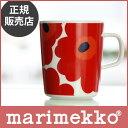 【 正規販売店 】marimekko ( マリメッコ )UNIKKO ( ウニッコ ) マグカップ / レッド 【あす楽】.