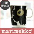 【 正規販売店 】marimekko ( マリメッコ )UNIKKO ( ウニッコ ) マグカップ / ブラック 【あす楽対応_近畿】【RCP】.
