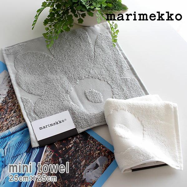 【 メール便 5枚まで 可 】 marimekko ( マリメッコ ) Unikko solid towels ウニッコ ミニタオル / 全2色 【 正規販売店 】.