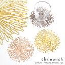 【 メール便 可 】 chilewich ( チルウィッチ ) Bloom ( ブルーム ) コースター 単品 / 一枚 ( ばら売り ) 【 正規販売店 】 1