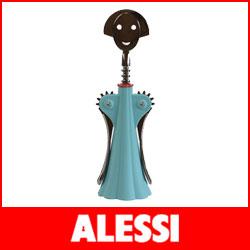 【送料無料】【正規販売店】ALESSI ( アレッシィ )  ANNA G アンナ G ワインオープナー / ブルー.