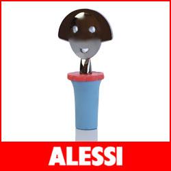 【正規販売店】ALESSI ( アレッシィ )  ANNA STOP 2 アンナストップ 2 ボトルストッパー / ブルー .