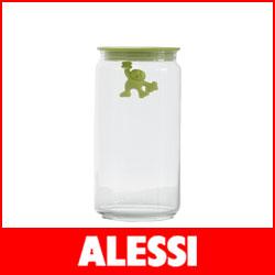 【正規販売店】ALESSI ( アレッシィ )  GIANNI ジャンニ キッチンボックス Lサイズ / イエロー.