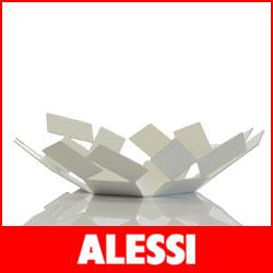 【送料無料】【正規販売店】ALESSI ( アレッシィ ) LA STANZA DELLO SCIROCCO フルーツ バスケット / ホワイト.