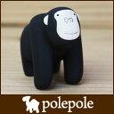 polepole ( ぽれぽれ ) 木製 雑貨 ぽれぽれ動物 ゴリラ .