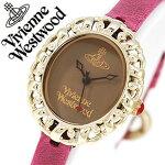 ヴィヴィアン時計VivienneWestwood時計ヴィヴィアンウエストウッド腕時計VivienneWestwood腕時計ヴィヴィアンウエストウッド時計ビビアンウエストウッド/ビビアン/ヴィヴィアン/Vivienne/ロココレディース/ブラウンVV005SMBY[送料無料]