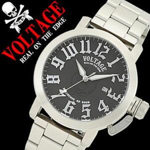 ヴォルテージ腕時計VOLTAGE時計VOLTAGE腕時計ヴォルテージ時計ボルテージサバイブSURVIVEメンズ/ブラックVO113S-02M-SV[送料無料][mpw][10倍][プレゼント/ギフト/祝い/入学祝い]