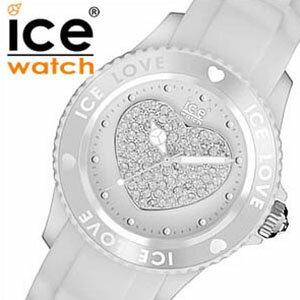 アイスウォッチicewatch腕時計アイスラブIce-LoveユニセックスホワイトLOWEUS【ice-watch】【正規品】【送料無料】【楽ギフ_包装】[送料無料][lcwmdw][lpw][10倍][プレゼント/ギフト/お祝い/卒業祝い]