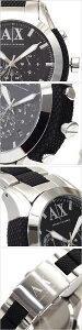 アルマーニエクスチェンジ腕時計ArmaniExchange時計ArmaniExchange腕時計アルマーニエクスチェンジ時計クロノグラフメンズ/ブラックAX1214[エレガントカジュアル]【楽ギフ_包装】