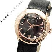 マークジェイコブス 時計 MARCJACOBS 時計 マークバイマークジェイコブス 腕時計 MARCBYMARCJACOBS 腕時計 マークバイマーク 時計 MARCBYMARC 時計 マークジェイコブス腕時計 [ マーク/MARC ] エイミー AMY /レディース/ブラック MBM1225 [革ベルト/レザー][祝い][送料無料]