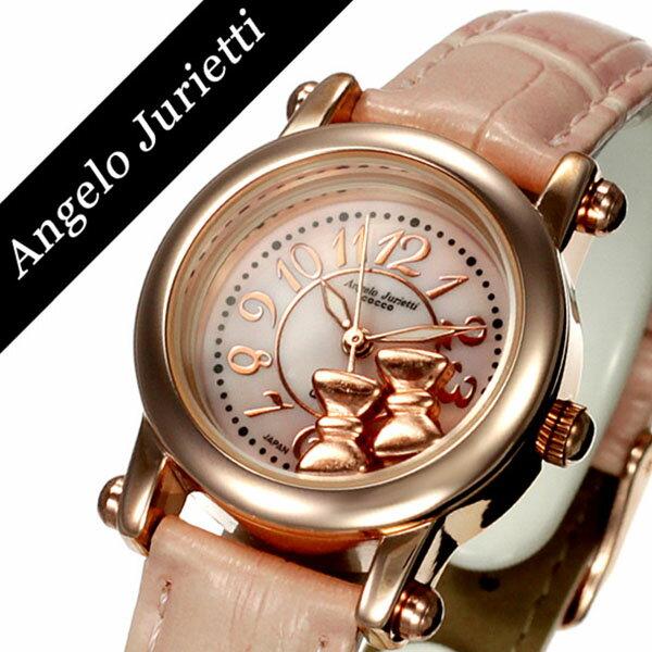 腕時計, レディース腕時計  Angelo Jurietti Angel AJ4051-PGPK-PK