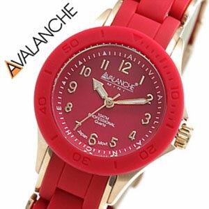 アバランチ腕時計AVALANCHE時計AVALANCHE腕時計アバランチ時計ヌーヴォーNOUVEAU/レディース/レッドAV-1025-RDRG[おしゃれかわいいピンクゴールド][送料無料][lpw][プレゼント/ギフト/祝い/入学祝い]
