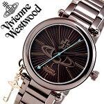 ヴィヴィアン時計VivienneWestwood時計ヴィヴィアンウエストウッド腕時計VivienneWestwood腕時計ヴィヴィアンウエストウッド時計ビビアンウエストウッド/ビビアン/ヴィヴィアン/Vivienne/ケンジントンIIレディース/ブラウンVV006KBR[送料無料]