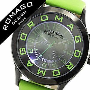 ロマゴ腕時計ROMAGODESIGN時計ロマゴデザイン腕時計ROMAGODESIGNロマゴデザインロマゴデザイン腕時計ROMAGODESIGN時計メンズ/レディース/男女兼用/グリーンRM015-0162ST-LUGR[おしゃれグリーン][革ベルト革ベルトおしゃれ][送料無料][lcwmbw][10倍]