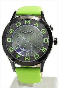 ロマゴデザイン腕時計ROMAGODESIGN時計ROMAGODESIGN腕時計ロマゴデザイン時計/メンズ/レディース/男女兼用/ユニセックス/グリーンRM015-0162ST-LUGR[おしゃれグリーン送料無料]