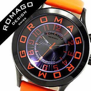 ロマゴ腕時計ROMAGODESIGN時計ロマゴデザイン腕時計ROMAGODESIGNロマゴデザインロマゴデザイン腕時計ROMAGODESIGN時計メンズ/レディース/男女兼用/オレンジRM015-0162ST-LUOR[おしゃれオレンジ][革ベルト革ベルトおしゃれ][送料無料][lcwmbw][10倍]